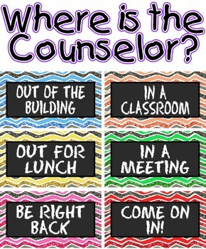 Where is the Counselor?