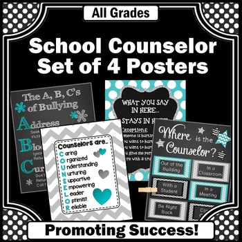Counseling Office Decor, School Counselor Appreciation Gifts, End of the Year