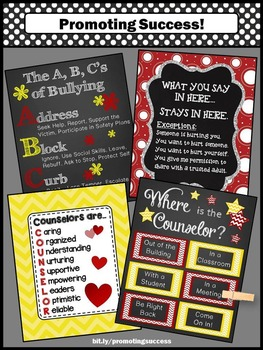 Counseling Office Door, School Counselor Appreciation, End of the year Gift Idea
