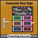 Where is the Counselor Sign, Counseling Office Decor 8x10 or 16x20 NOT EDITABLE