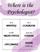 Where is the Counselor, Psychologist, or SLP? door sign (purple)