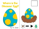 Where is the Dinosaur Egg? Positional Concepts Book