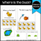 Where is the Duck? Where is the Frog? 2 Spatial Concepts Books