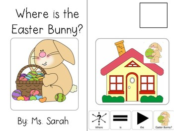 Where is the Easter Bunny? Adapted Book