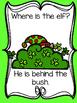 Where is the Elf? Emergent reader/Teacher Text/Pocket Chart Pack