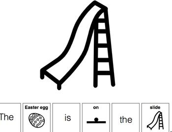 Where is the Easter Egg? Preposition Book