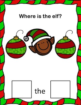Where is the Elf? A Preposition Adapted Book