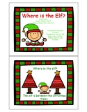 Where is the Elf? Christmas Spatial Concept Activity Preview