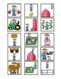 Where is the Farmer Cariboo Game - Houghton Mifflin Preschool Theme