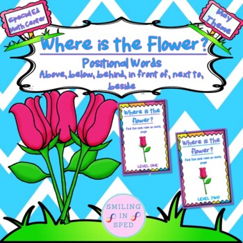 Where is the Flower? {Positional Words} (May Theme)