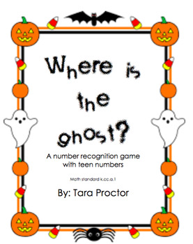 Where is the Ghost? A number recognition game