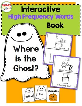 Where is the Ghost? {Interactive High-Frequency Words Book}