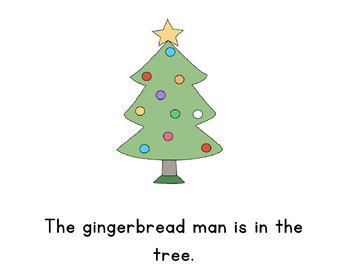 Where is the Gingerbread Man?: An interactive positional word book