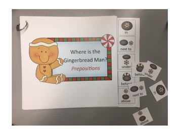 Where is the Gingerbread Man Prepositions