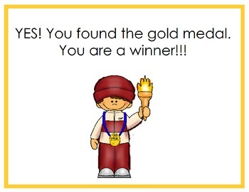 Where is the Gold Medal?