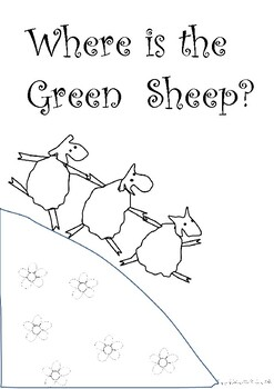 Where is the Green Sheep - Class Book