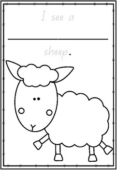 Where is the Green Sheep - Literacy Unit