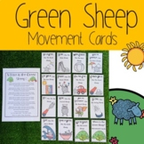 Where is the Green Sheep? Movement Cards