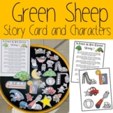Where is the Green Sheep? Story Card and Characters
