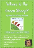 Where is the Green Sheep by Mem Fox - Literacy Activities