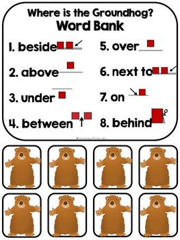 Where is the Groundhog- Adapted Interactive Book {Autism, Speech}