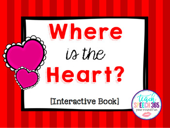 Where is the Heart? Interactive Book