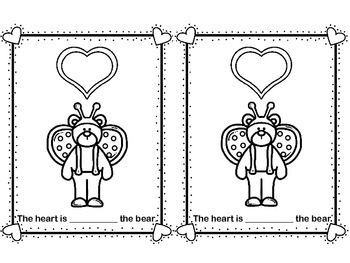 Where is the Heart?  Valentine's Preposition Book