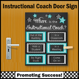 Where is the Instructional Coach Sign, Office Door Sign, NOT EDITABLE