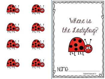 Where is the Ladybug?  A Spatial Concept Interactive Book