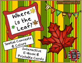 Where is the Leaf? - Spatial Concepts and Colors