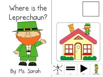 Where is the Leprechaun? Adapted Book