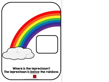 Where is the Leprechaun? An Adapted St. Patrick's Day Book on Positional Words