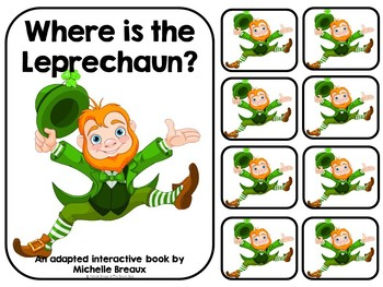 Where is the Leprechaun? An Adapted St. Patrick's Day Book