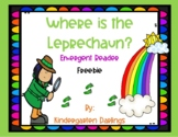 Where is the Leprechaun? Emergent Reader for St. Patrick's Day