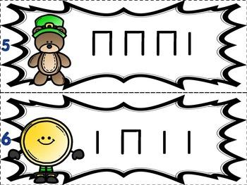 Where is the Leprechaun Freebie {Rhythm Cards Game: ta ti-ti}