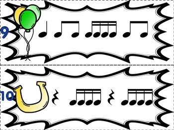 Music Games for St. Patrick's Day: Where is the Leprechaun? {Sixteenth Notes}
