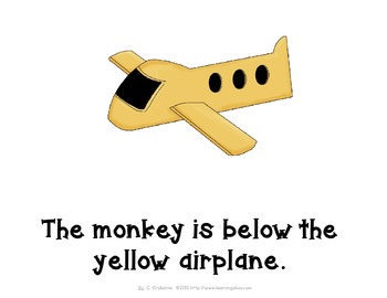 Where is the Monkey? An interactive positional word book