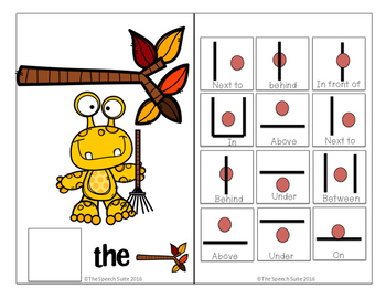 Where is the Monster? Interactive Book for Prepositions