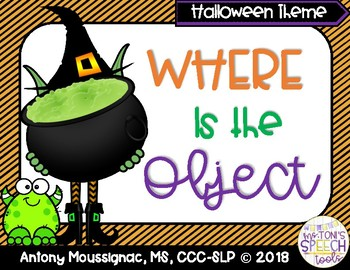 Where is the Object? A Halloween (Spatial Concepts) Interactive Book