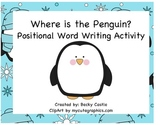 Penguins Positional Words Activity
