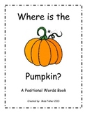 Where is the Pumpkin? A Positional Words Book