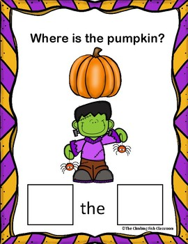 Where is the Pumpkin? A Preposition Adapted Book