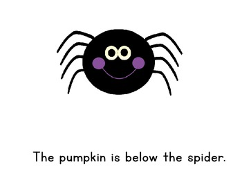 Where is the Pumpkin? An interactive positional word book