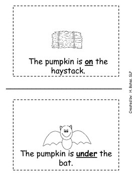 Where is the Pumpkin - Book of Spatial Concepts