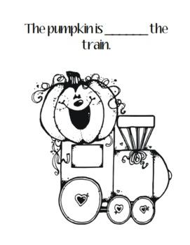 Where is the Pumpkin Literacy Book