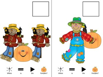 Where is the Pumpkin?-Positional Concepts Book