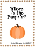 Where is the Pumpkin? - Speech & Language Therapy
