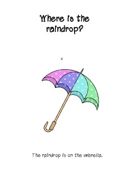 Where is the Raindrop? - Speech & Language Therapy