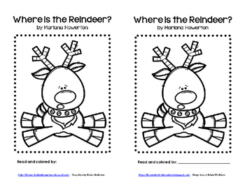 Where is the Reindeer? A Positional Words Emergent Reader and Retelling Pieces