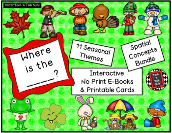Where is the ...? SPATIAL CONCEPTS BUNDLE